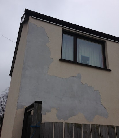 External wall insulation problems