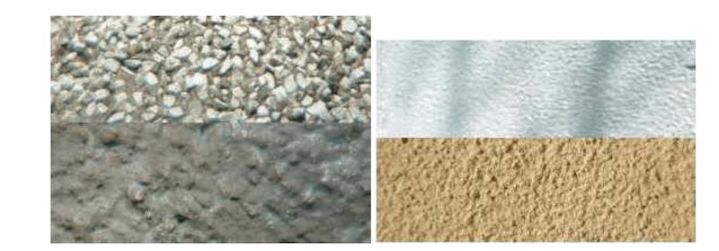 Painting pebbledash