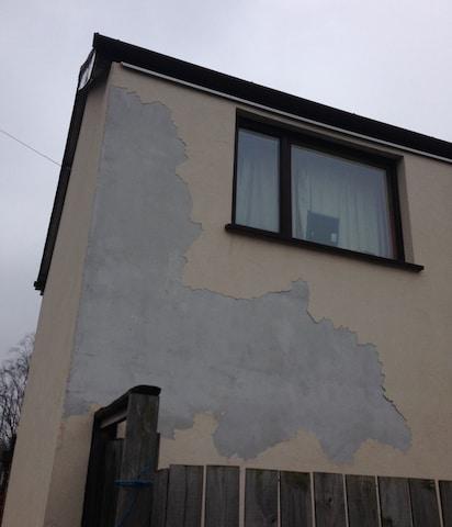External wall insulation problems