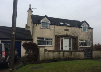 front before lime render